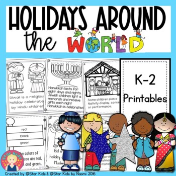 Holidays Around the World: Hanukkah, Christmas, Kwanzaa, Eid, Diwali