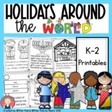 Holidays Around the World -Christmas, Hanukkah, Kwanzaa, Eid, Diwali