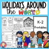 Holidays Around the World - Christmas, Hanukkah, Kwanzaa,