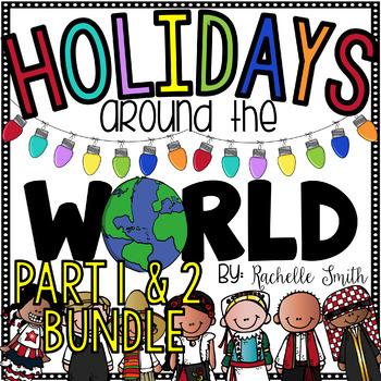 Holidays Around the World Part 1 and Part 2 BUNDLED