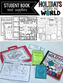 Holidays Around the World Part 1 and Part 2 BUNDLED