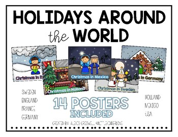 Holidays Around the World Posters