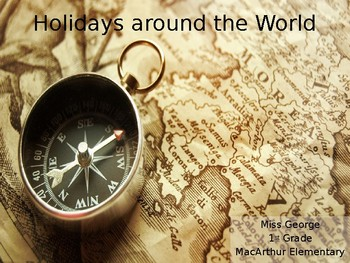 Holidays Around the World PowerPoint Presentation (Editable)