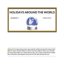 Holidays Around the World Project
