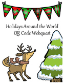 Holidays Around the World QR Code Webquest