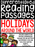 Holidays Around the World Reading Passages Differentiated