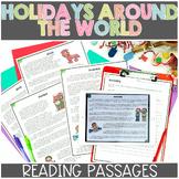 Christmas Around the World, Holidays Around the World Reading Passages
