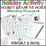Christmas Around the World, Holidays Around the World Reading Passages