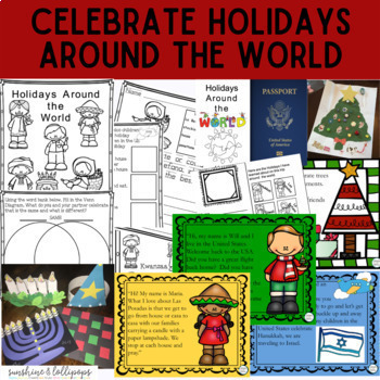Christmas: Holidays Around the World for K-1 Plus Power Po