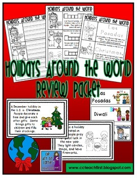 Holidays Around the World Review Packet