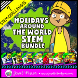 Holidays Around the World STEM Activities BUNDLE (With Chr