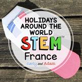 France Christmas Around the World STEM Activity