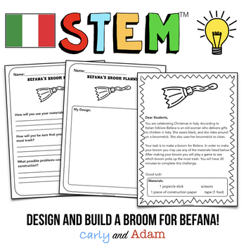 Holidays Around the World STEM Activity: Italy - NGSS Aligned