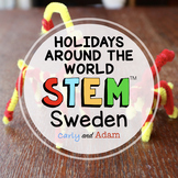 Sweden Christmas Around the World STEM Activity