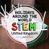 United Kingdom Christmas Around the World STEM Activity