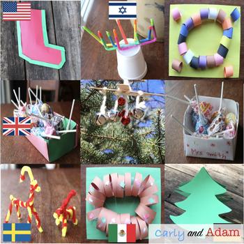 Holidays Around the World STEM Activities BUNDLE (9 Countries)