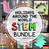 Christmas and Holidays Around the World STEM Activities and Challenges BUNDLE