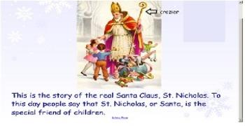 Holidays Around the World - Saint Nicholas Smart Board lesson