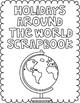 Holidays Around the World Scrapbook: Hanukkah