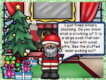 Christmas Around the World Series Powerpoint- USA!