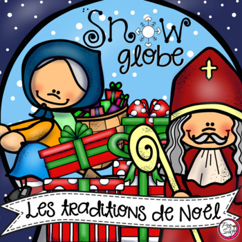 Holidays Around the World Snow Globe 3-D Craft in FRENCH