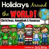 Holidays Around the World Sorting Pictures (Christmas, Hanukkah, Kwanzaa)
