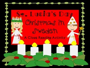 Holidays Around the World - St. Lucia's Day - Close Reading