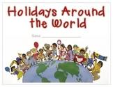 Holidays Around the World - Student Fact Book Activity