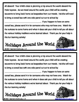 Holidays Around the World Suitcase