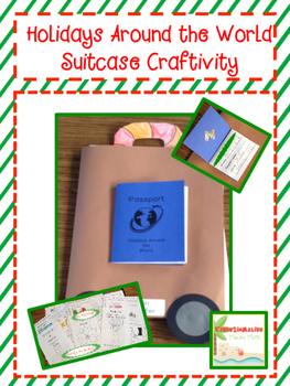 Holidays Around the World Suitcase Craftivity Freebie!!!