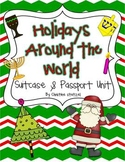 Holidays Around the World Suitcase & Passport Unit