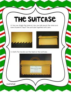 Holidays Around the World Suitcase & Passport Unit