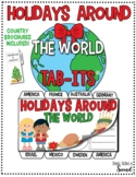 Holidays Around the World Tab-Its® and Brochures