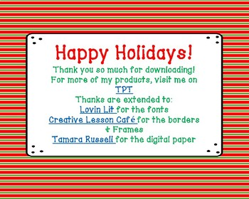 Holidays Around the World Task Cards & Reading Passage