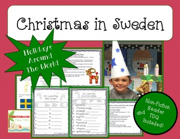 Holidays Around the World-The BUNDLE- CCA w/NonFiciton Book and Craftivity