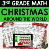 Christmas Around the World Math 3rd Grade - Math Worksheets