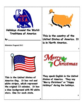 Holidays Around the World:  Traditions of America