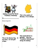 Holidays Around the World:  Traditions of Germany