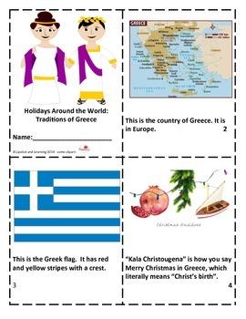 Holidays Around the World:  Traditions of Greece