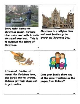 Holidays Around the World:  Traditions of Holland