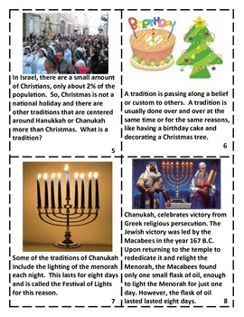 Holidays Around the World:  Traditions of Israel