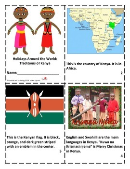 Holidays Around the World:  Traditions of Kenya