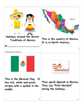 Holidays Around the World:  Traditions of Mexico