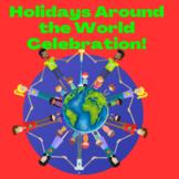 """Holidays Around the World"" WebQuest fun, food & Learning"