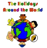 Holidays Around the World with BONUS easy Thank You Note