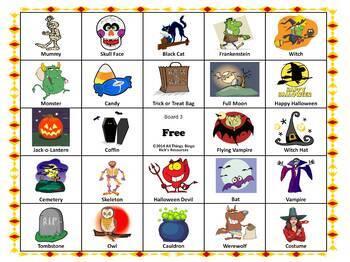 Holidays Bingo Bundle - 8 Sets