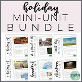 Holiday Reading Bundle   Close Reading   Holiday Activitie