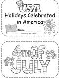 Holidays Celebrated in America Booklet