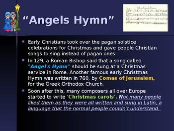 Holidays - Celebrating Christmas Traditions - Christmas Carols