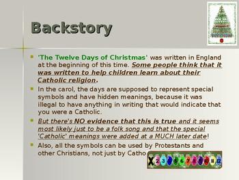 Holidays - Celebrating Christmas Traditions - The 12 Days of Christmas
